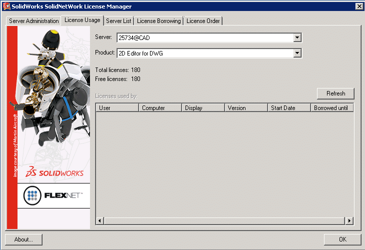 Solidworks License Manager mgr License Server